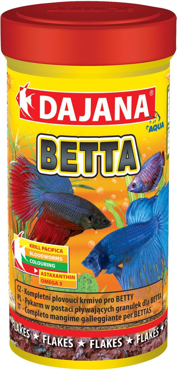 Корм для рыб Dajana Betta, 100 мл корм для рыбок цена