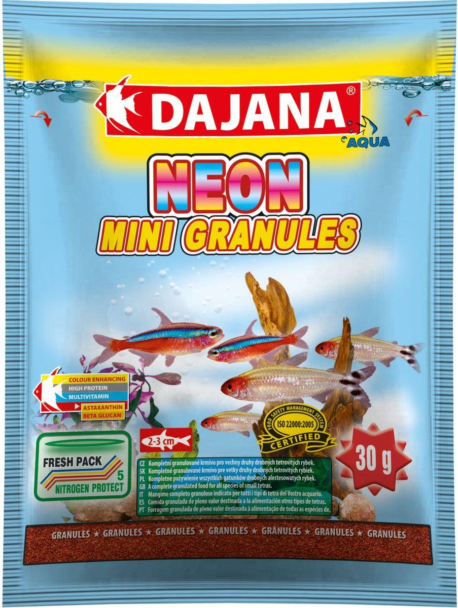 Корм для рыб Dajana Neon Mini Granules, 80 мл корм для рыбок цена