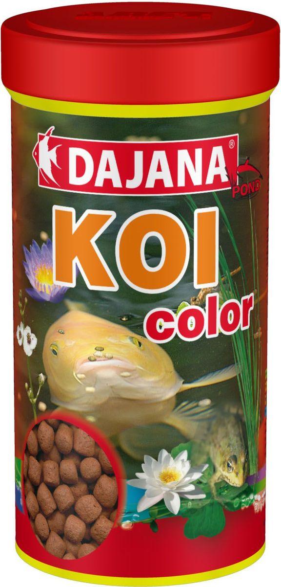 Корм для прудовых рыб Dajana Koi Stick, 1 л (450 г). DP306D для рыб по гороскопу подходит кто
