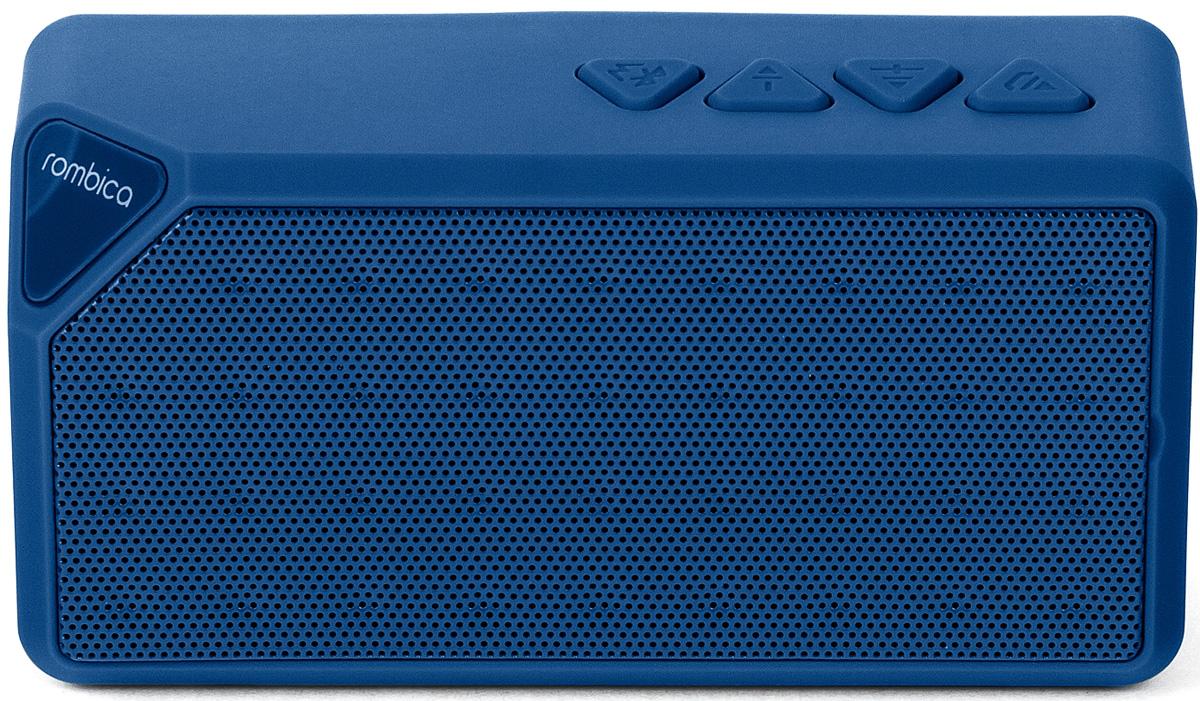 Беспроводная колонка Rombica MySound BT-01 2C, Blue rombica mysound bt 01 2c blue портативная акустическая система