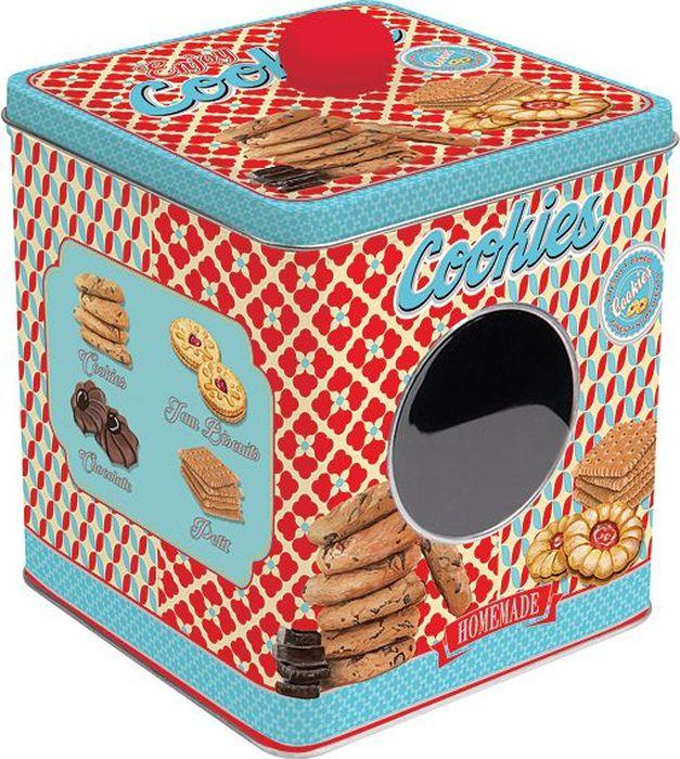 Банка для печенья Easy Life Сладости, 13 х 13 х 14,5 см r2s