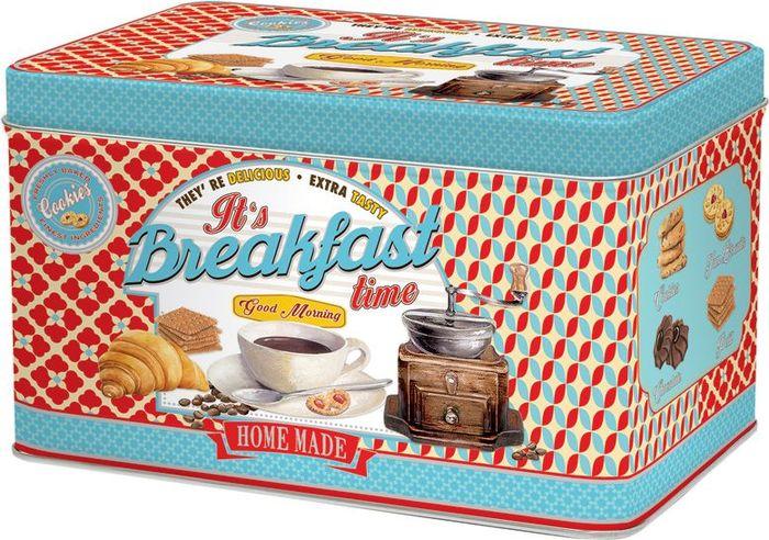 Банка для печенья Easy Life Завтрак, 22 х 14 х 13 см r2s
