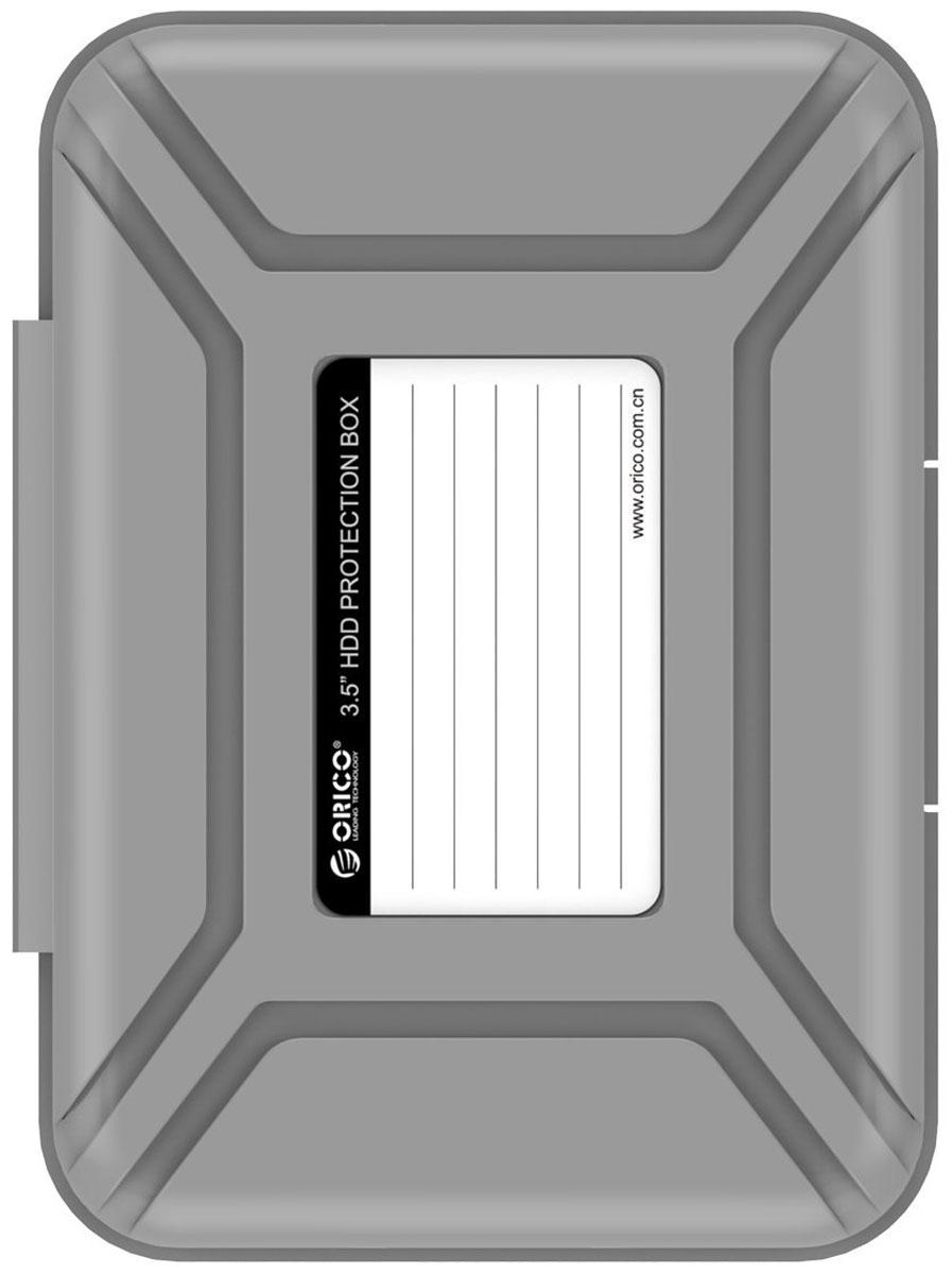 Orico PHX-35, Gray чехол для жесткого диска orico phx 35 чехол для hdd 3 5 grey