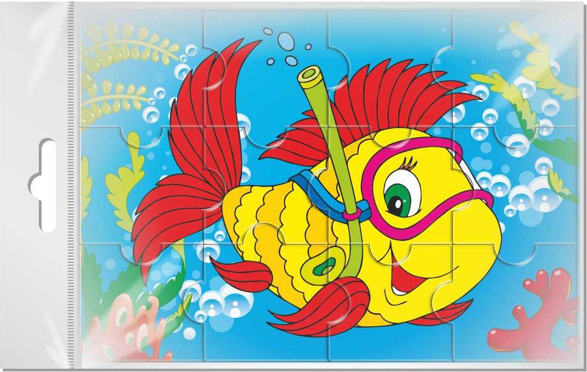 пазл картинка рыбка это визуальный