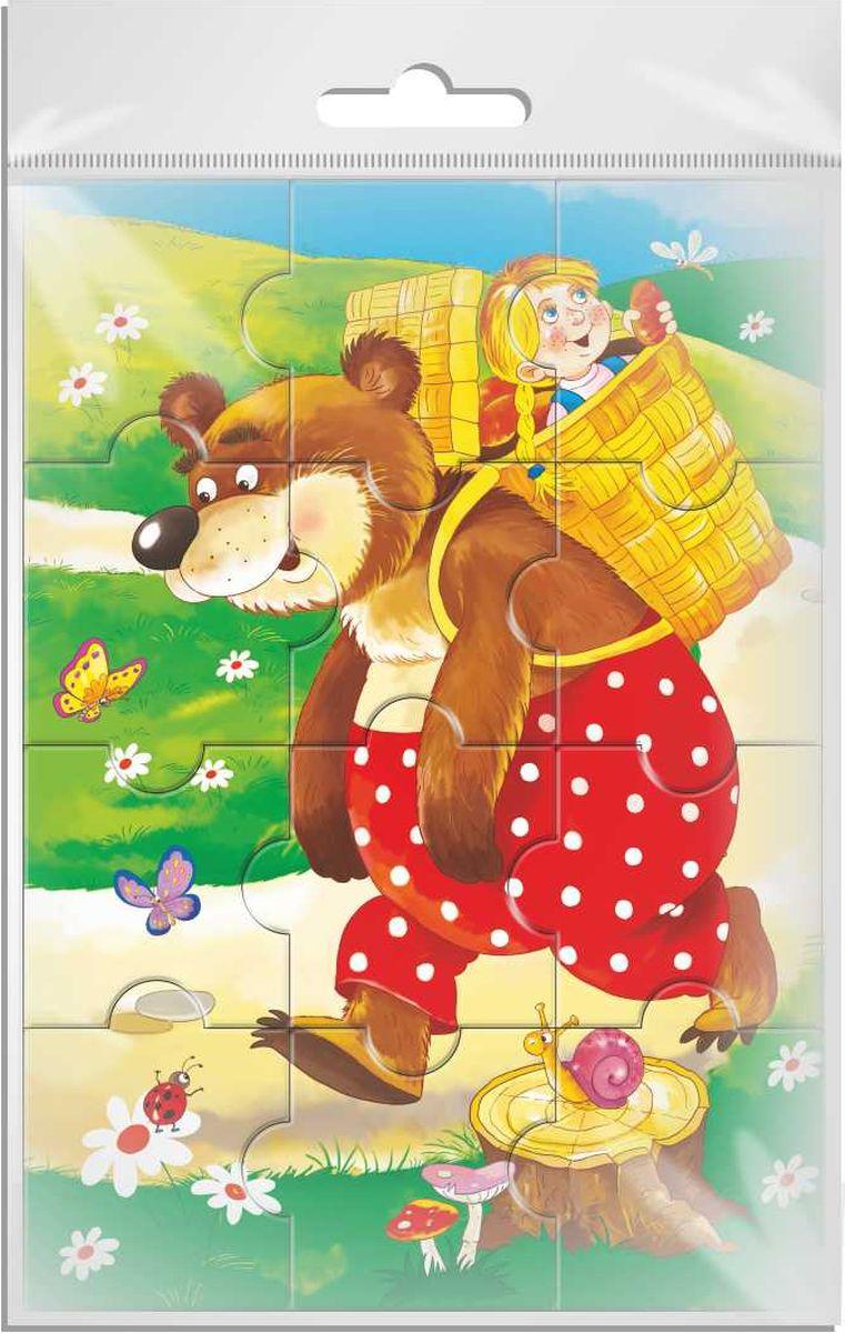 разрезная картинка маша и медведь как раз тот