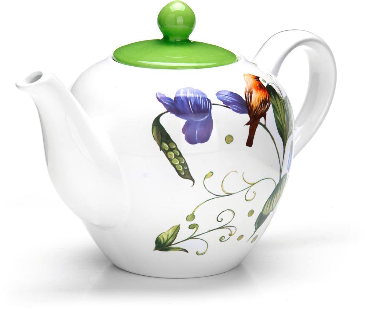 Заварочный чайник Loraine Птичка, 1,2 л loraine заварочный чайник loraine 24851 0 85 л