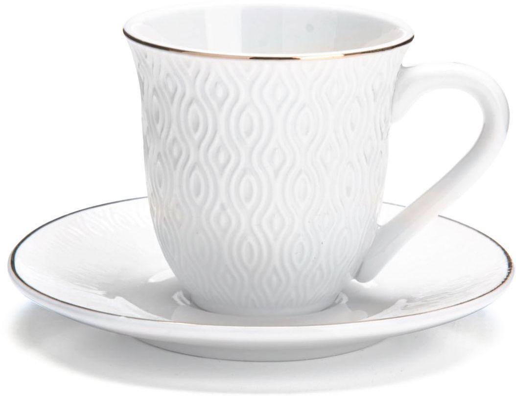 """Кофейный сервиз """"Loraine"""", 90 мл, 12 предметов. 26821"""