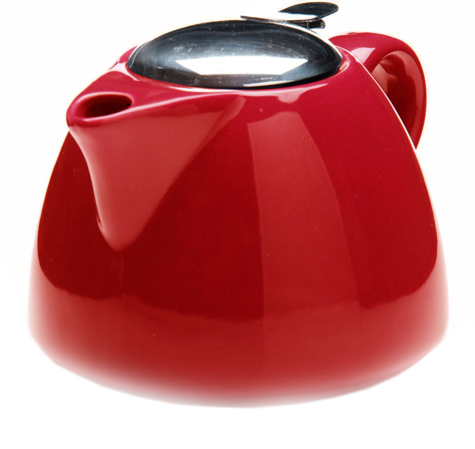 Заварочный чайник Loraine, цвет: красный, 700 мл. 26598-3 заварочный чайник loraine цвет красный 750 мл 26597 3