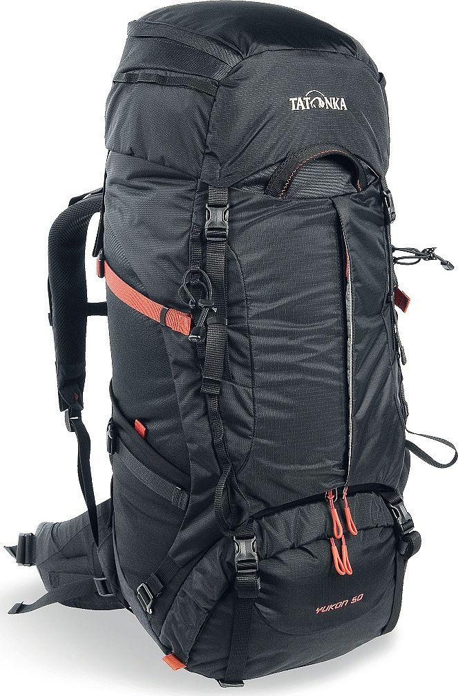 "Рюкзак туристический Tatonka ""Yukon"", цвет: черный, 50+10 л"