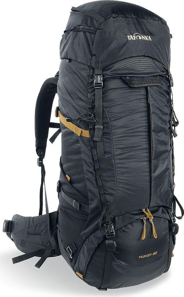 "Рюкзак туристический Tatonka ""Yukon"", цвет: черный, 60+10 л"