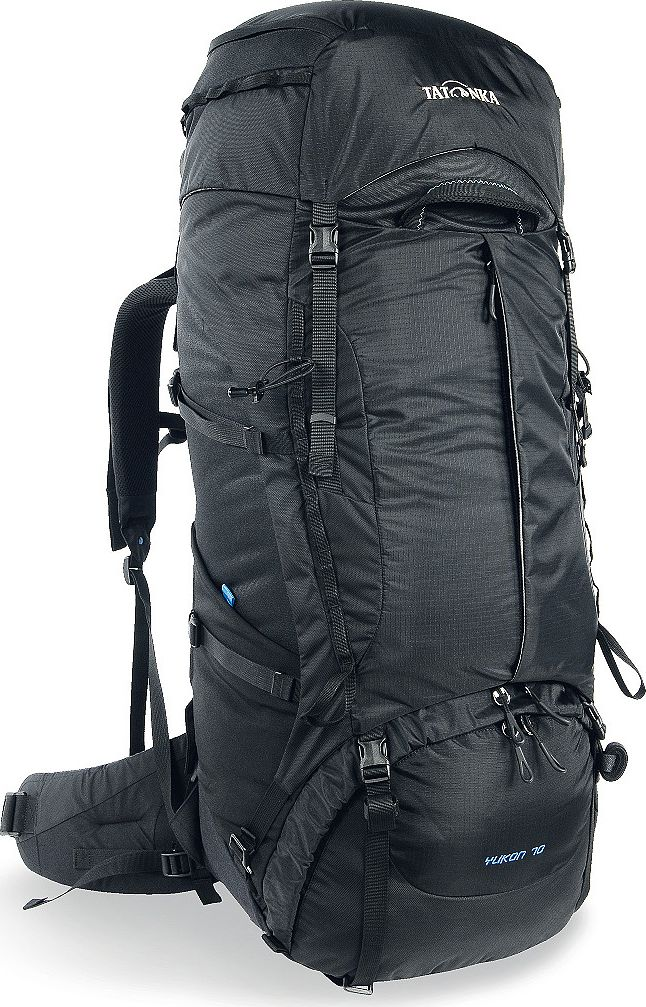 "Рюкзак туристический Tatonka ""Yukon"", цвет: черный, 70+10 л"