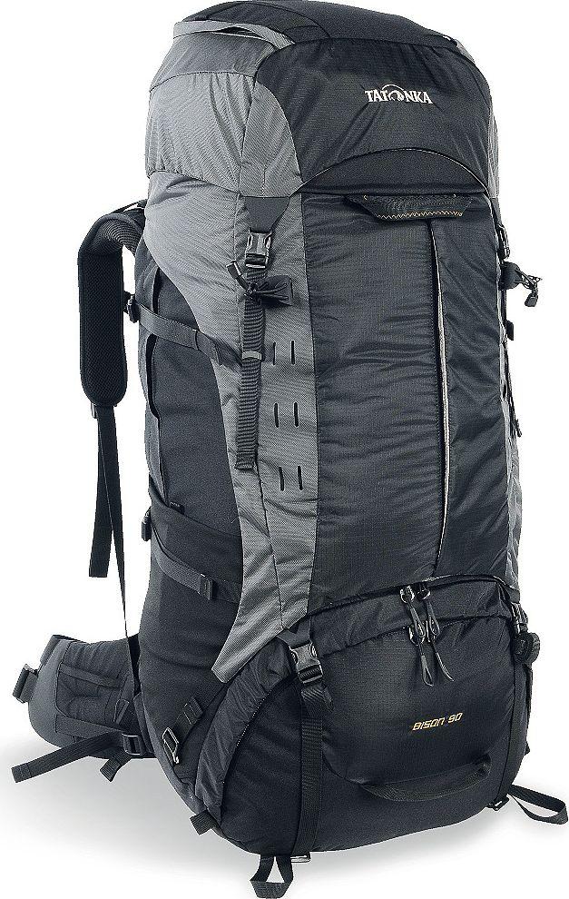 """Рюкзак туристический Tatonka """"Bison"""", цвет: черный, 90+10 л"""
