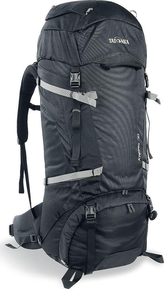 Рюкзак туристический Tatonka Karas, цвет: черный, 70+10 л рюкзак туристический сплав goblin 70 цвет черный 70 л