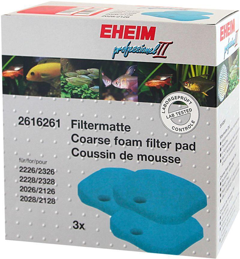Наполнитель для фильтра Eheim Experience 350, поролон, 3 шт наполнитель для фильтра eheim experience 150 250 угольный 3 шт