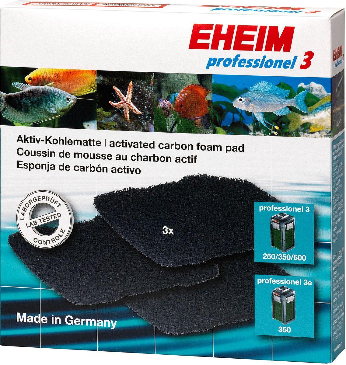 Наполнитель для фильтра Eheim Professionel 3 250/350/600, 3 шт наполнитель для фильтра eheim experience 150 250 угольный 3 шт