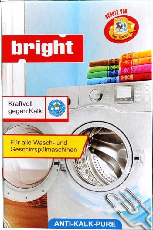 Чистящее средство от накипи Bright, для посудомоечных и стиральных машин, 250 г средство от накипи селена д стирал машин 100г