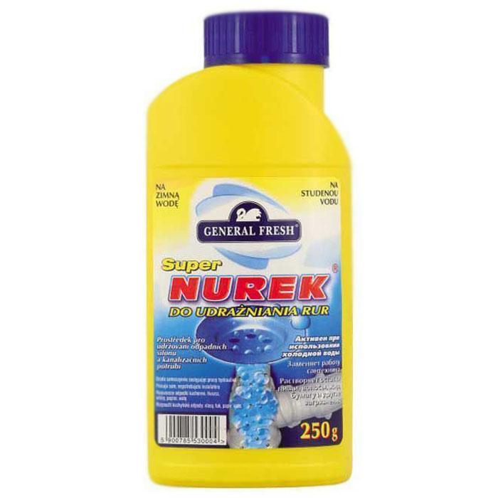 "Средство для очистки труб General Fresh ""Super Nurek"", гранулы, 250 г"