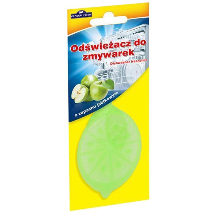 Освежитель для посудомоечных машин General Fresh Odswiezacz Do Zmywarek. Зеленое яблоко, 1 шт освежитель для посудомоечных машин frisch aktiv запах морской лимонный 2 шт