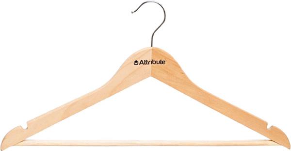 Вешалка универсальная Attribute Hanger Classic, прямая, длина 44 см вешалка универсальная attribute hanger classic прямая длина 44 см