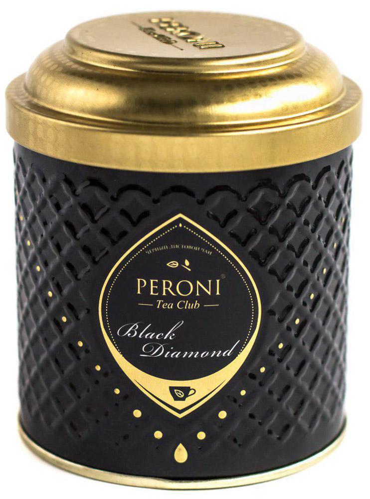 Peroni Black Diamond чай черный крупнолистовой, 70 г peroni diamond collection подарочный набор меда 320 г