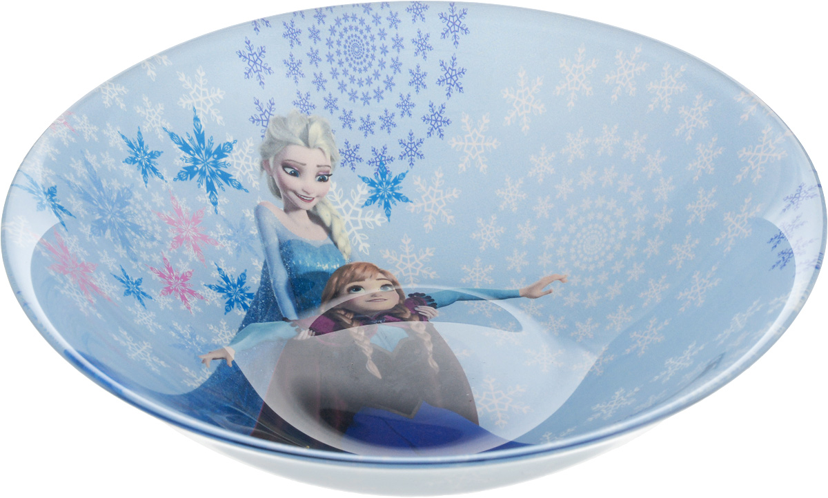 Салатник Luminarc Disney Frozen, диаметр 16 см салатник luminarc lemon fizz 16 см