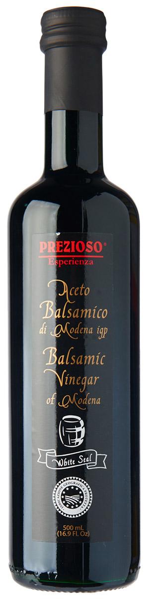 Prezioso Esperienza Уксус бальзамический темный, 500 мл бальзамический уксус papadimitriou каламата 250 мл