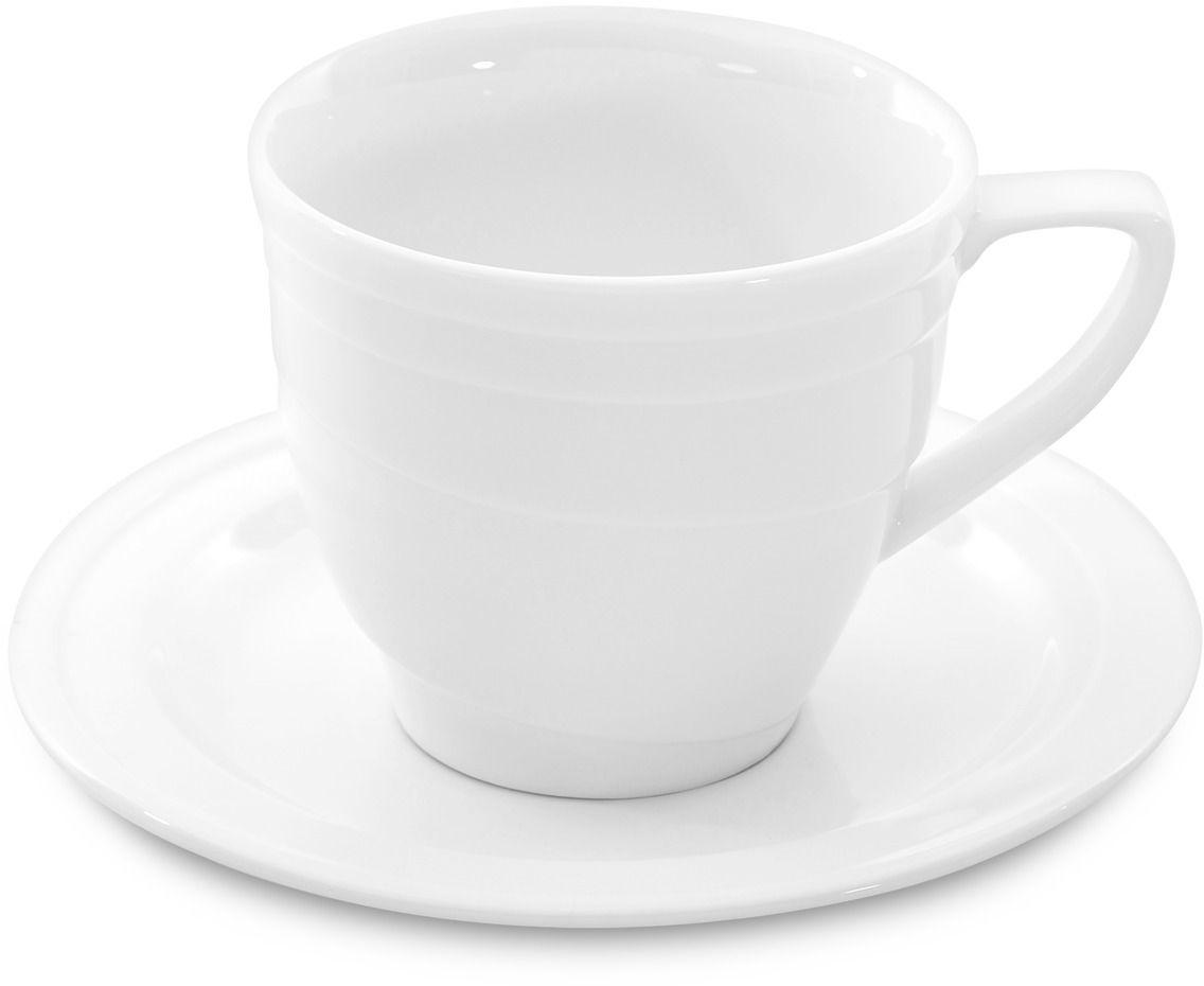 "Кофейная пара BergHOFF ""Hotel"", цвет: белый, 95 мл, 2 предмета"