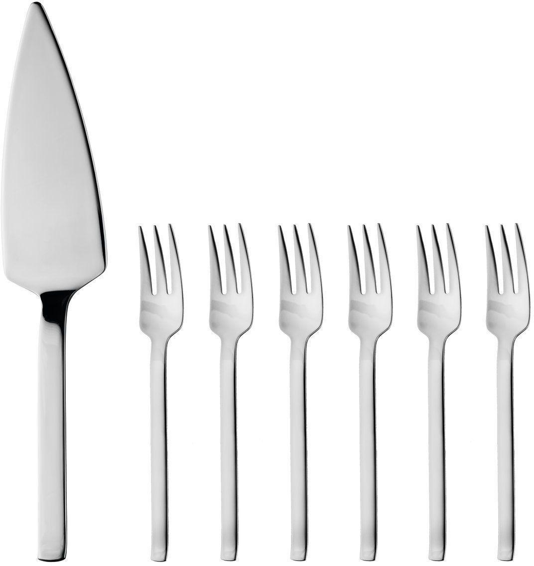 Фото - Набор столовых приборов для десерта BergHOFF, 7 предметов набор вилок для барбекю berghoff 6 шт