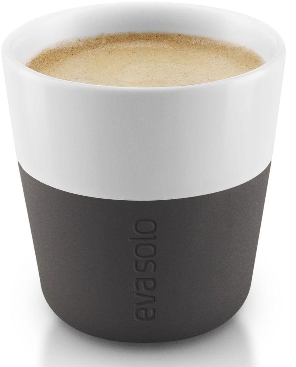 Чашка для эспрессо Eva Solo, цвет: черный, белый, 80 мл, 2 шт