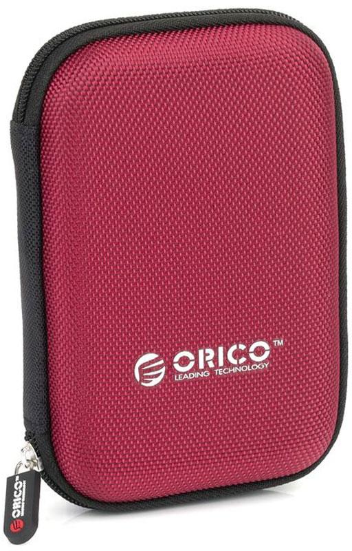 Orico PHD-25, Red чехол для жесткого диска цена 2017