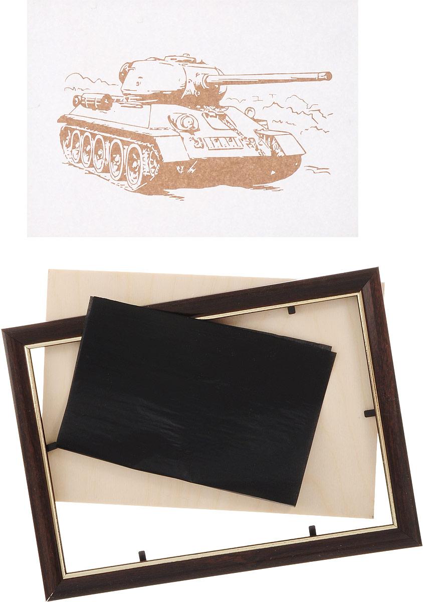 Ракета Набор для выжигания и раскрашивания Танк ( 08122015_танк )