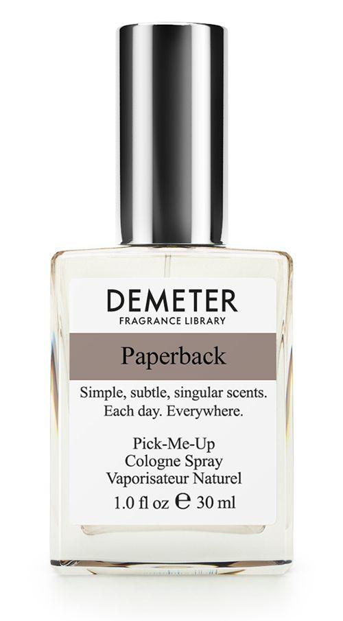 Demeter Fragrance Library Книжный переплет/Paperback 30 мл demeter аромат для дома книжный переплет paperback 120 мл
