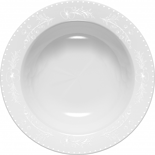 Тарелка суповая Domenik