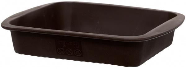 Форма квадратная Attribute Chocolate, силиконовая. AFS030AFS030Форма для выпечки из силикона - современное решение для практичных и радушных хозяек. Оригинальный предмет позволяет готовить в духовке любимые блюда из мяса, рыбы, птицы и овощей, а также вкуснейшую выпечку. Преимущества формы для выпечки: - блюдо сохраняет нужную форму и легко отделяется от стенок после приготовления; - высокая термостойкость (от -40 до 230°C) позволяет применять форму в духовых шкафах и морозильных камерах; - небольшая масса делает эксплуатацию предмета простой даже для хрупкой женщины; - силикон пригоден для посудомоечных машин; - высокопрочный материал делает форму долговечным инструментом; - при хранении предмет занимает мало места. Дно формы имеет волнистую поверхность Как выбрать форму для выпечки – статья на OZON Гид.
