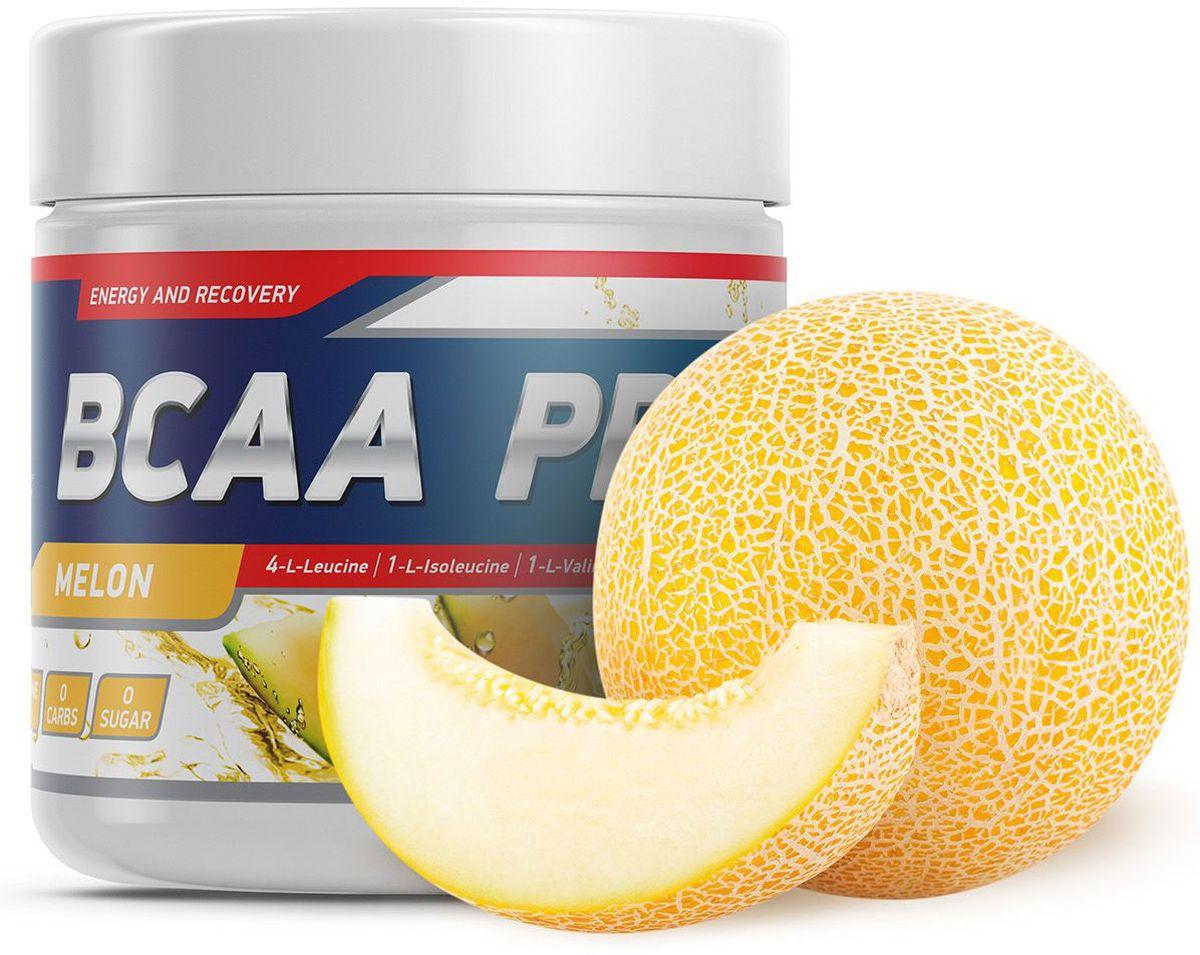 Аминокислоты Geneticlab BCAA Pro, дыня, 250 г аминокислоты bcaa geneticlab bcaa powder без вкуса 200 г