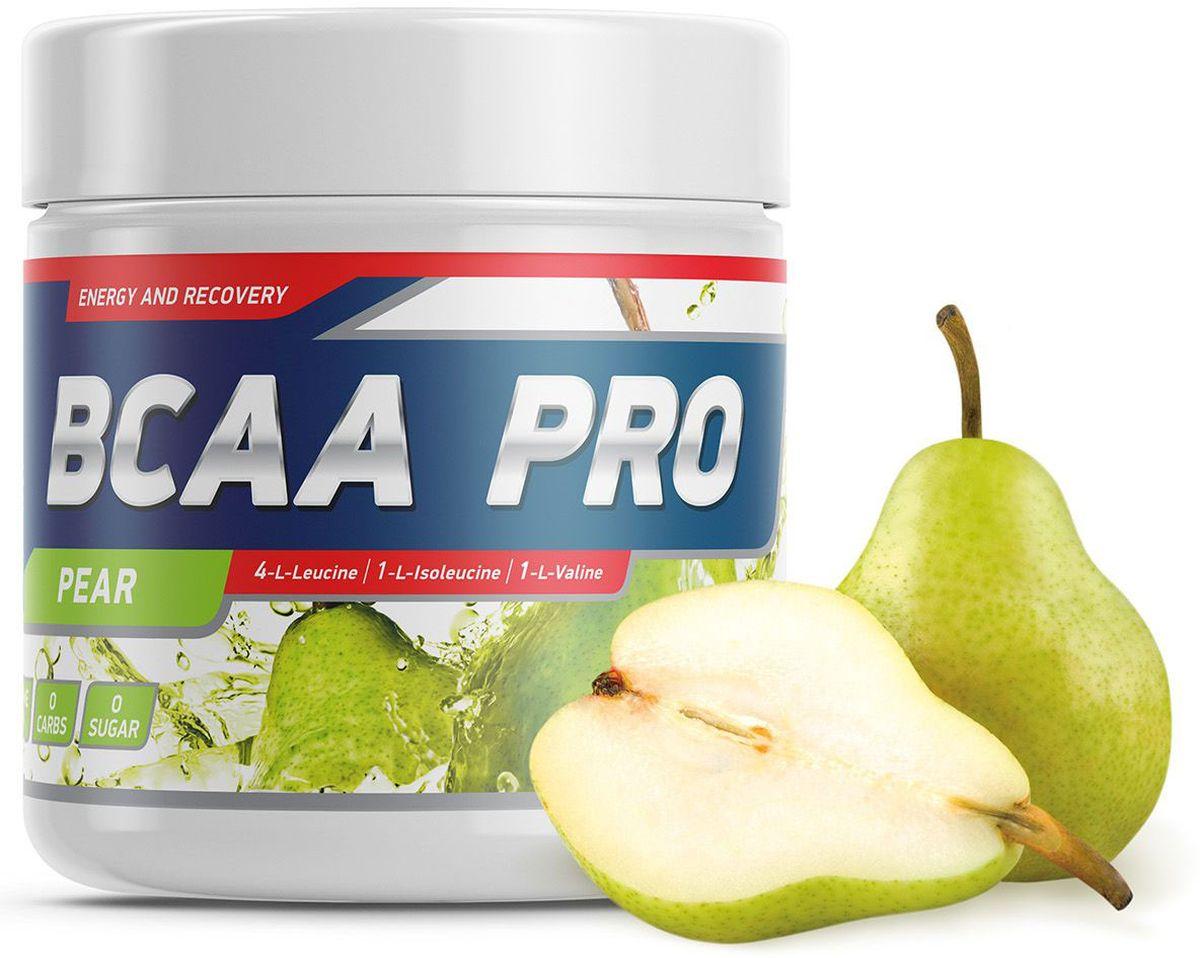 Аминокислоты Geneticlab BCAA Pro, груша, 250 г аминокислоты bcaa geneticlab bcaa powder без вкуса 200 г