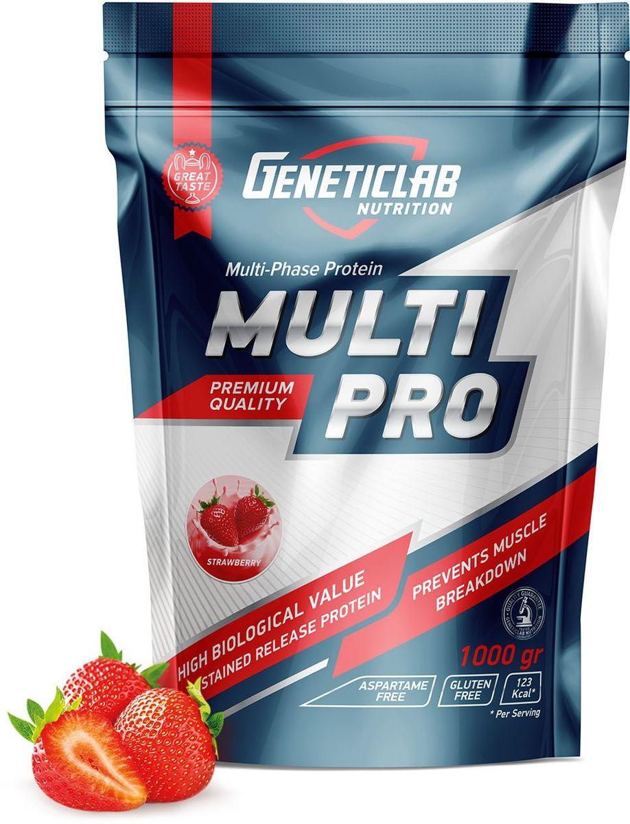 """Протеин Geneticlab """"Multi Pro"""", клубника, 1 кг"""