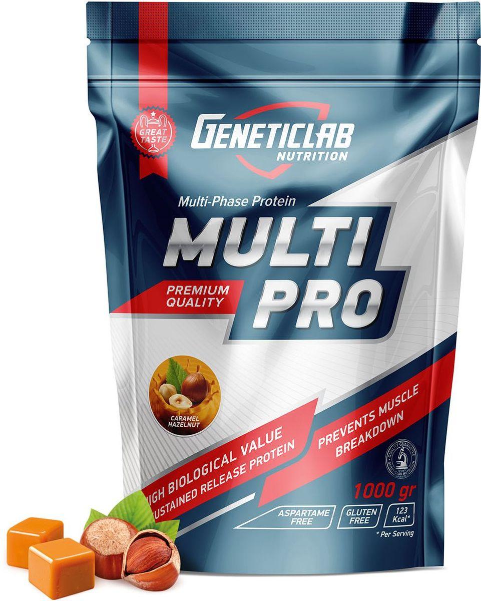 "Протеин Geneticlab ""Multi Pro"", карамель, орех, 1 кг"