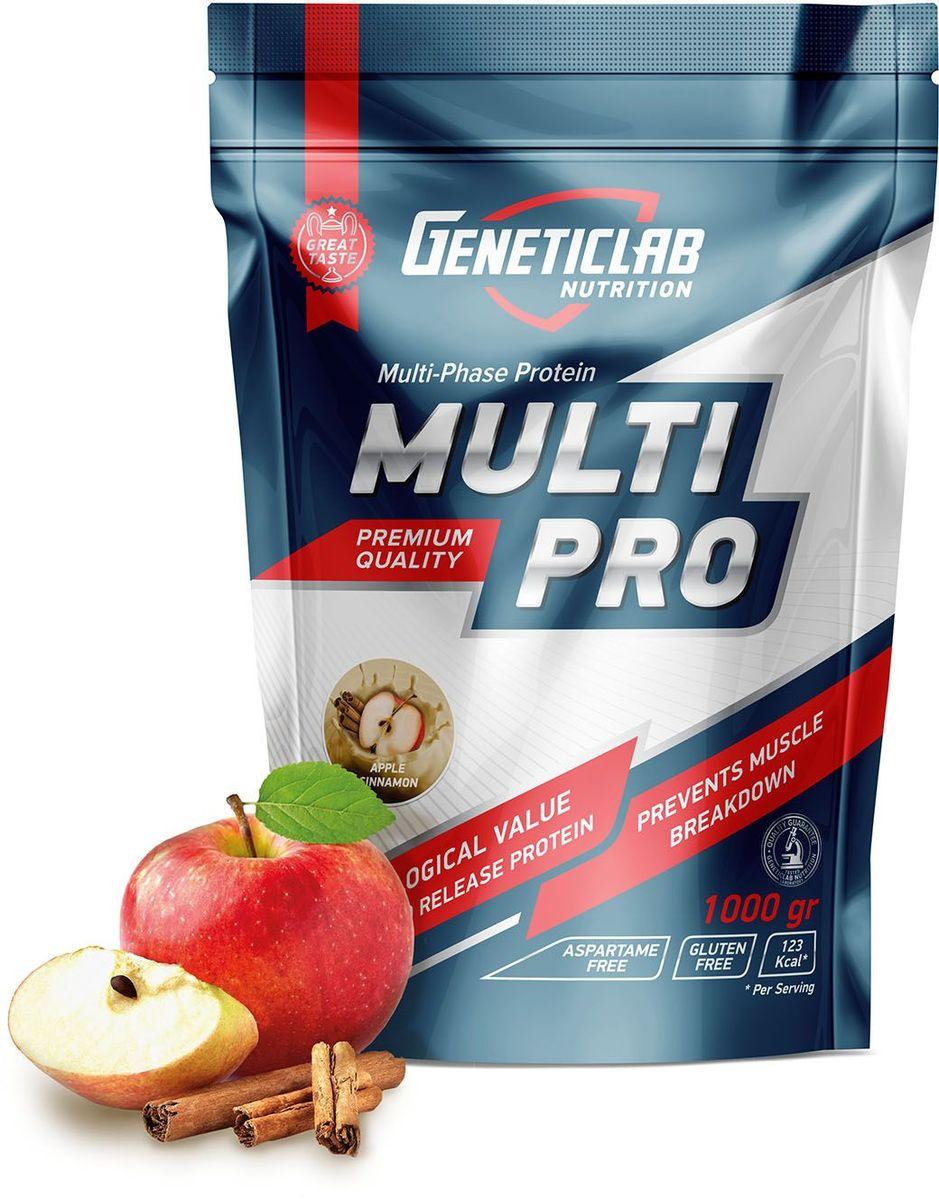 """Протеин Geneticlab """"Multi Pro"""", яблоко, корица, 1 кг"""