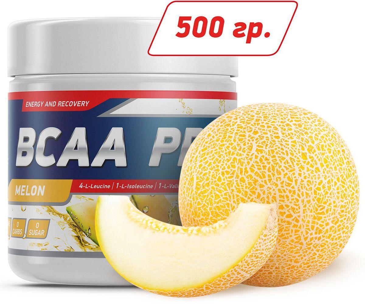 Аминокислоты Geneticlab BCAA Pro, дыня, 500 г аминокислоты bcaa geneticlab bcaa powder без вкуса 200 г