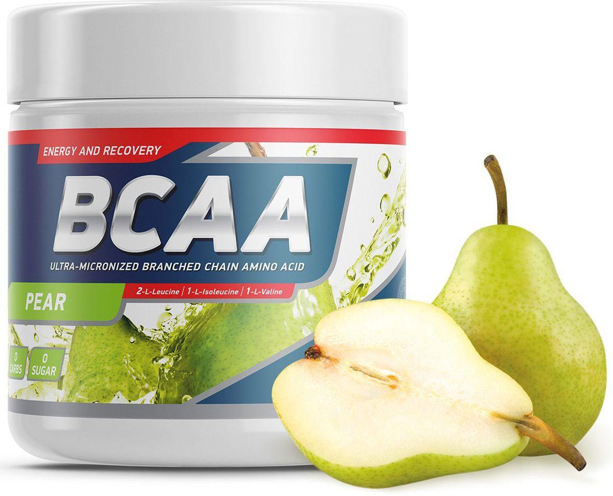 Аминокислоты Geneticlab BCAA 2:1:1, груша, 250 г аминокислоты bcaa geneticlab bcaa powder без вкуса 200 г