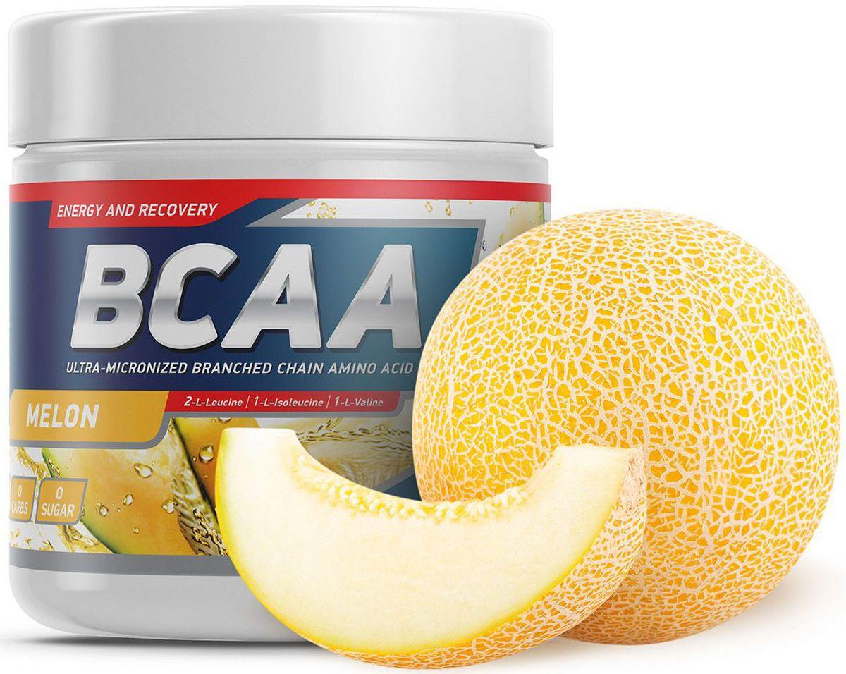 Аминокислоты Geneticlab BCAA 2:1:1, дыня, 250 г аминокислоты bcaa geneticlab bcaa powder без вкуса 200 г