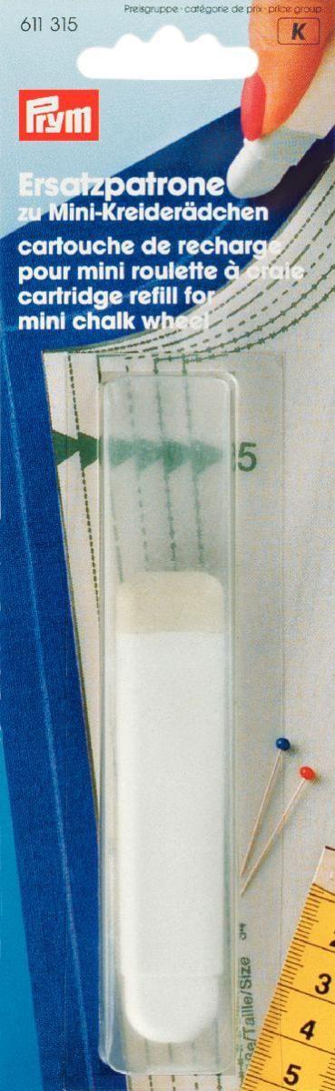 Мел для рукоделия Prym, цвет: белый кейс для рукоделия prym цвет коричневый