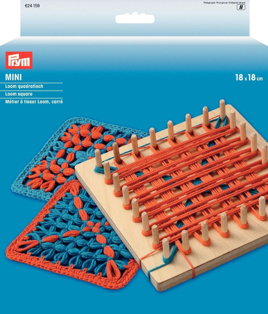 Набор для плетения на колышках Prym Loom Mini, для квадратов