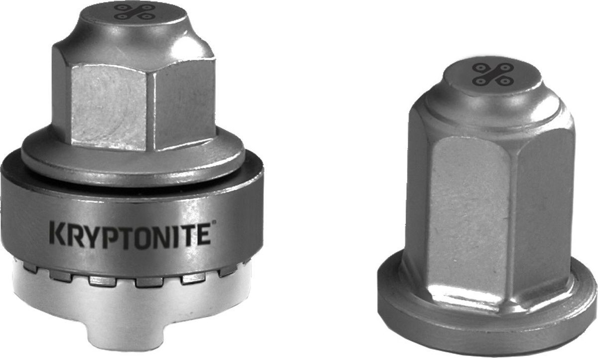 Система блокировки эксцентрика Kryptonite Security WheelNutz M10, цвет: серый