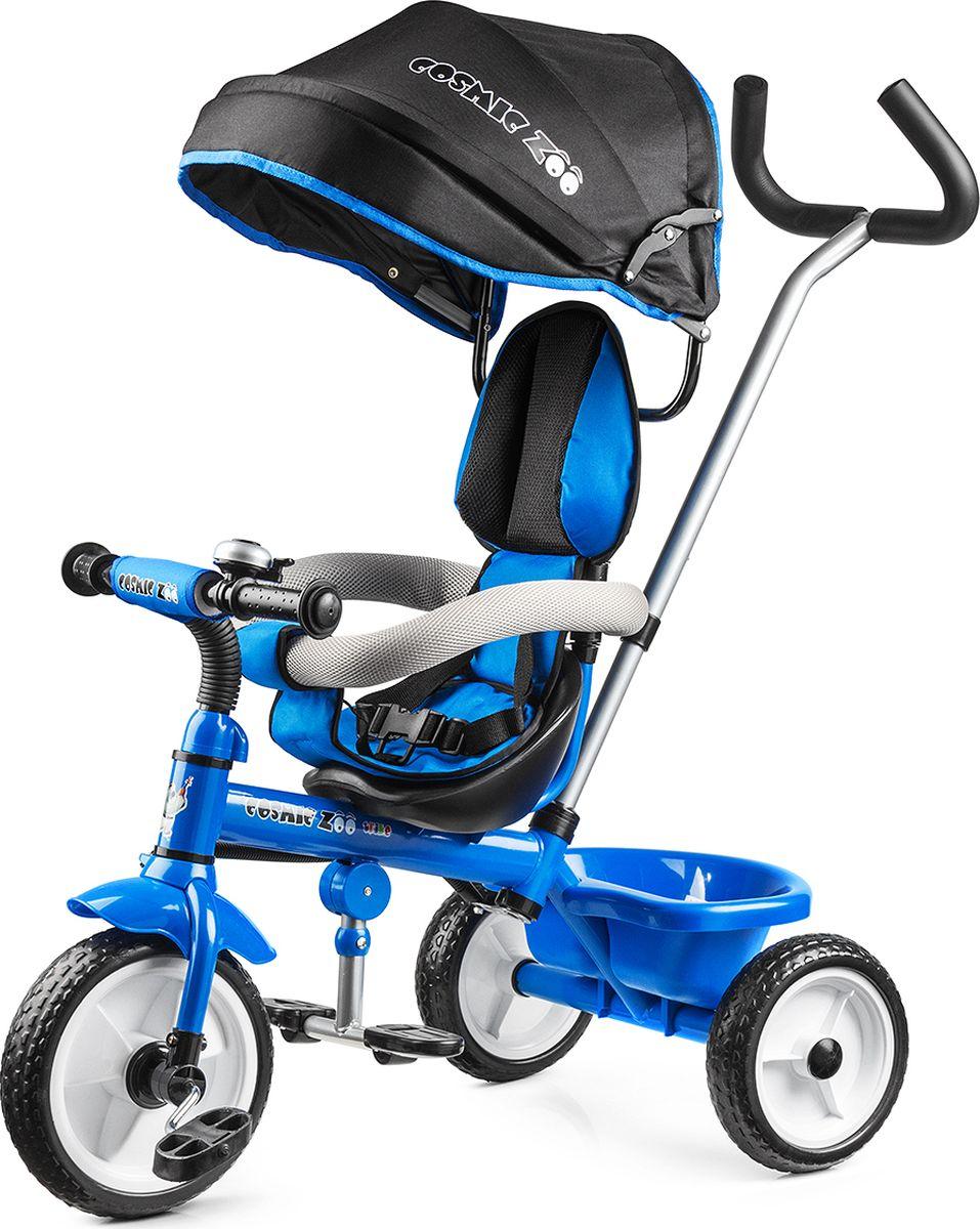 Small Rider Велосипед детский трехколесный Cosmic Zoo Trike цвет синий
