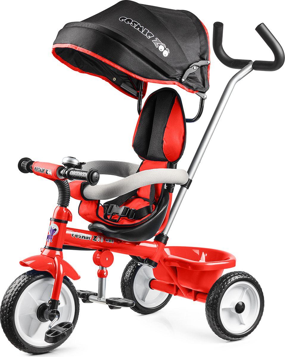 Small Rider Велосипед детский трехколесный Cosmic Zoo Trike цвет красный