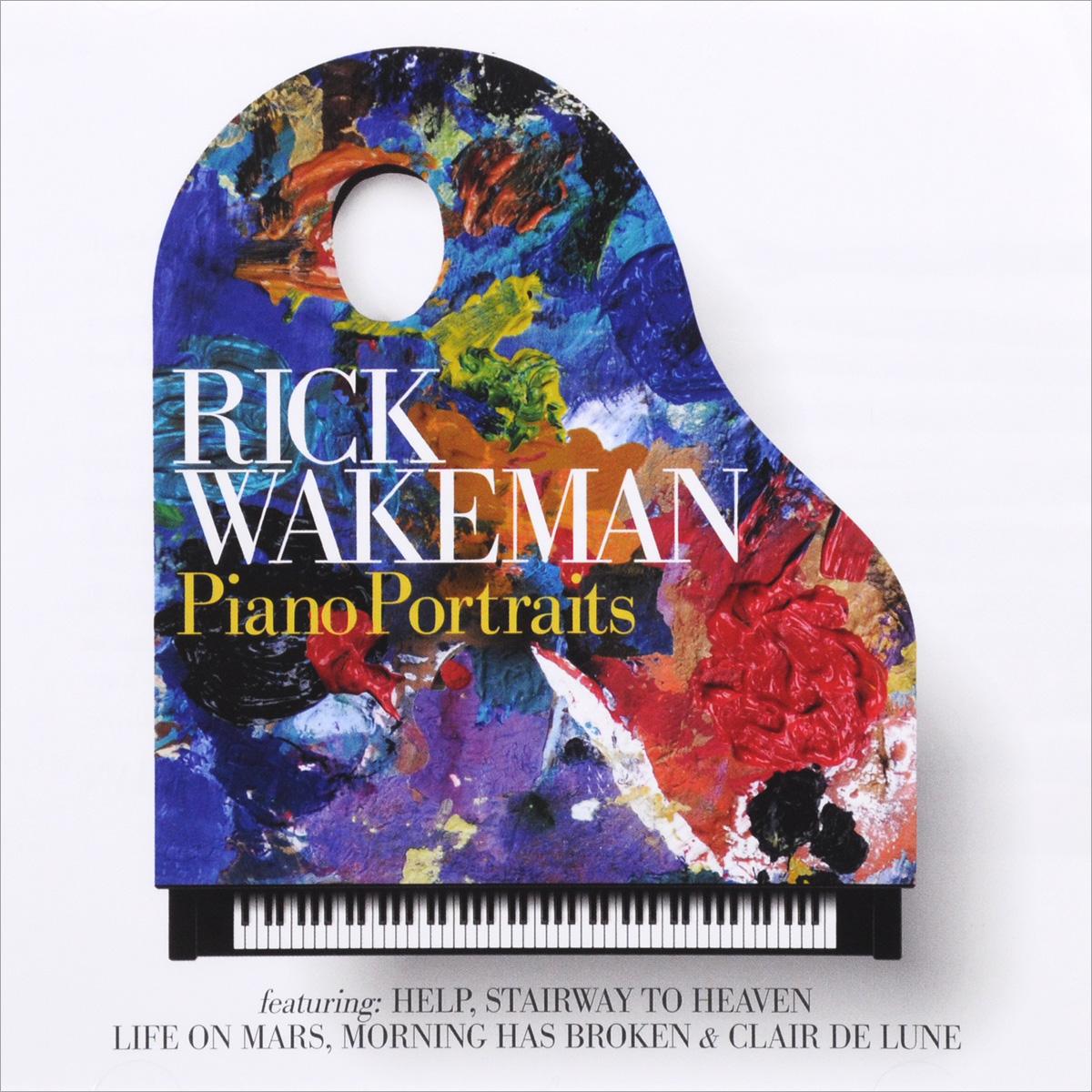 Рик Уэйкман Rick Wakeman. Piano Portraits рик уэйкман the english rock ensemble rick wakeman and the english rock ensemble no earthly connection