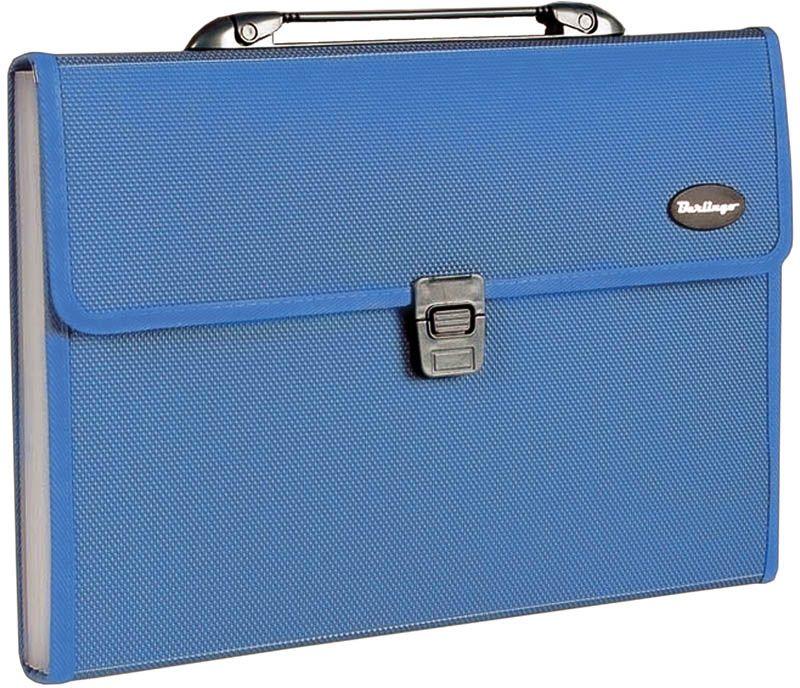 Berlingo Папка-портфель Standard 13 отделений цвет синий цена и фото