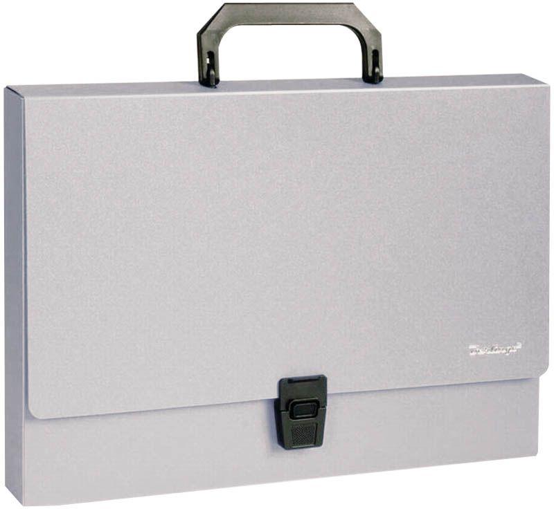 Berlingo Папка-портфель Standard цвет серый академия групп папка портфель а4 с ручкой тачки